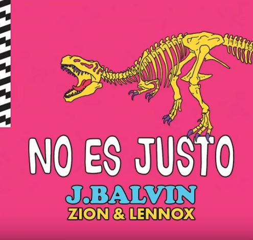 Photo of J Balvin lanza tema 'No es Justo' con Zion & Lennox'