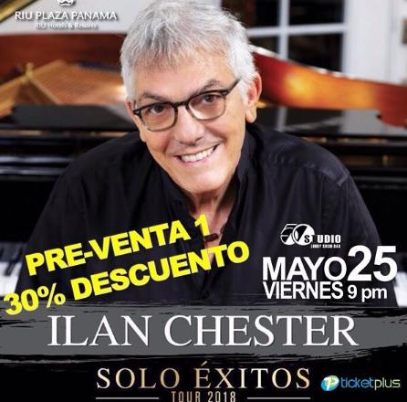 Photo of Descuento para el concierto de Ilan Chester en Panamá