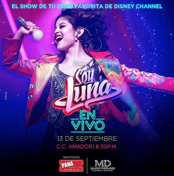 Photo of El show de 'Soy Luna' llega a Panamá