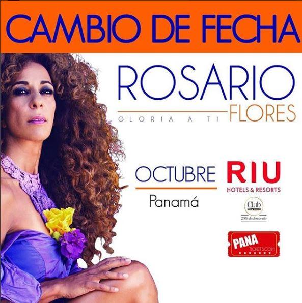 Photo of Cambio de fecha para concierto de Rosario Flores en Panamá