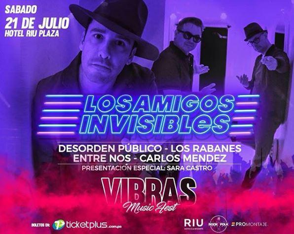 Photo of Panamá presenta 'Vibras Music Fest 2018'