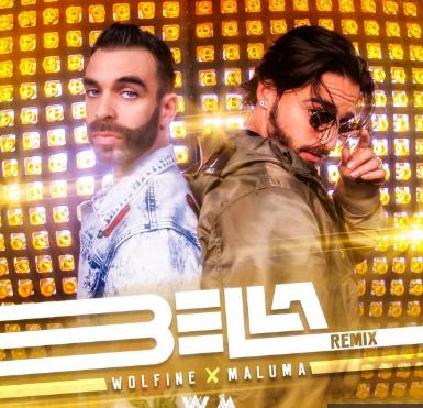 Photo of Wolfine y Maluma juntos en el remix oficial de «Bella»