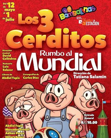 Photo of Los 3 cerditos rumbo al mundial