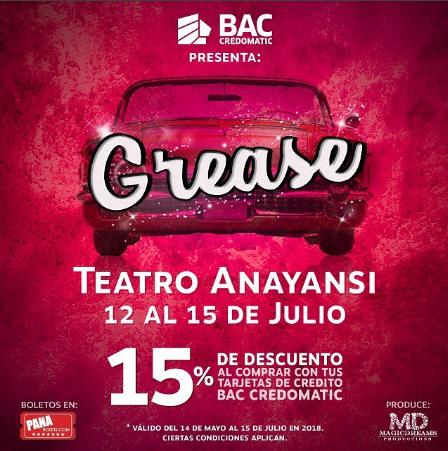 """Photo of Descuento al 15% para """"GREASE"""", el musical"""