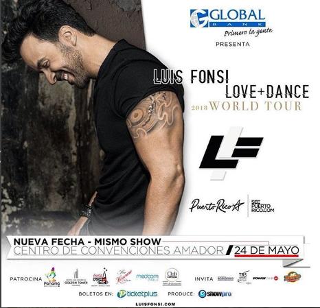 Photo of A pocos días para el concierto de Luis Fonsi en Panamá