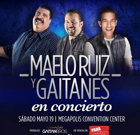 Photo of Maelo Ruiz y Gaitanes en concierto en Panamá