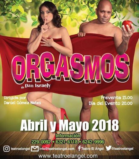 Photo of Desde esta noche disfruta de 'Orgasmos' en Teatro El Ángel