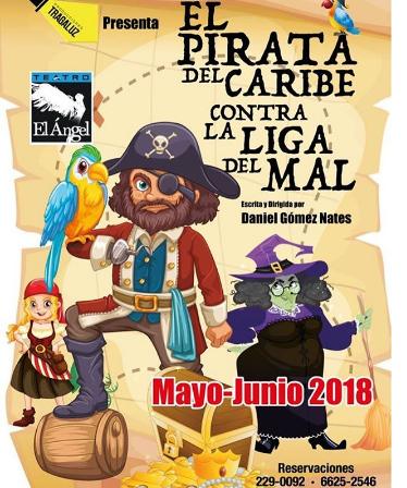 Photo of El pirata del caribe contra la liga del mal