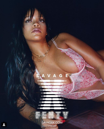 Photo of Rihanna muestra su linea de lencería modelada por ella misma