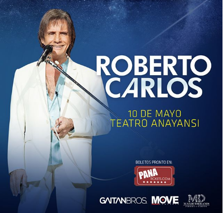 Photo of Cuenta regresiva a solo 2 días para el concierto de Roberto Carlos en Panamá