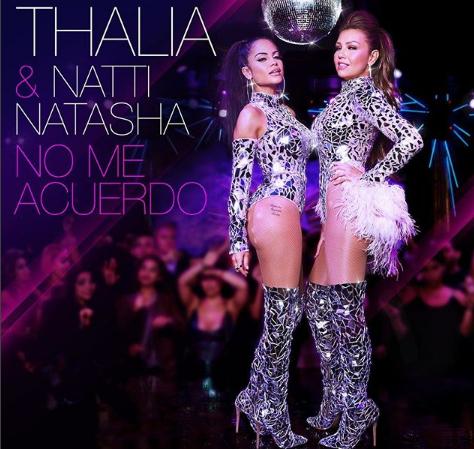 """Photo of Thalía y Natti Natasha lanzan un adelanto de """"No me acuerdo"""""""