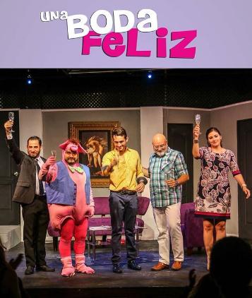 Photo of Disfruta de la obra 'Una Boda Feliz'