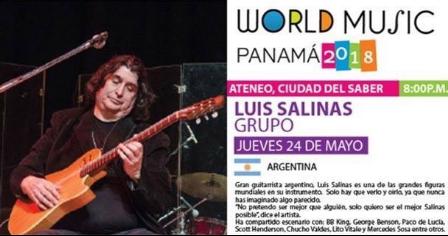 Photo of Luis Salinas viene a Panamá