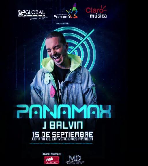 Photo of J Balvin estará en el PANAMAX en septiembre