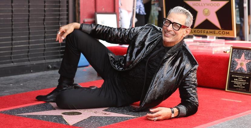 Photo of Jeff Goldblum recibe su Estrella en el Paseo de la Fama