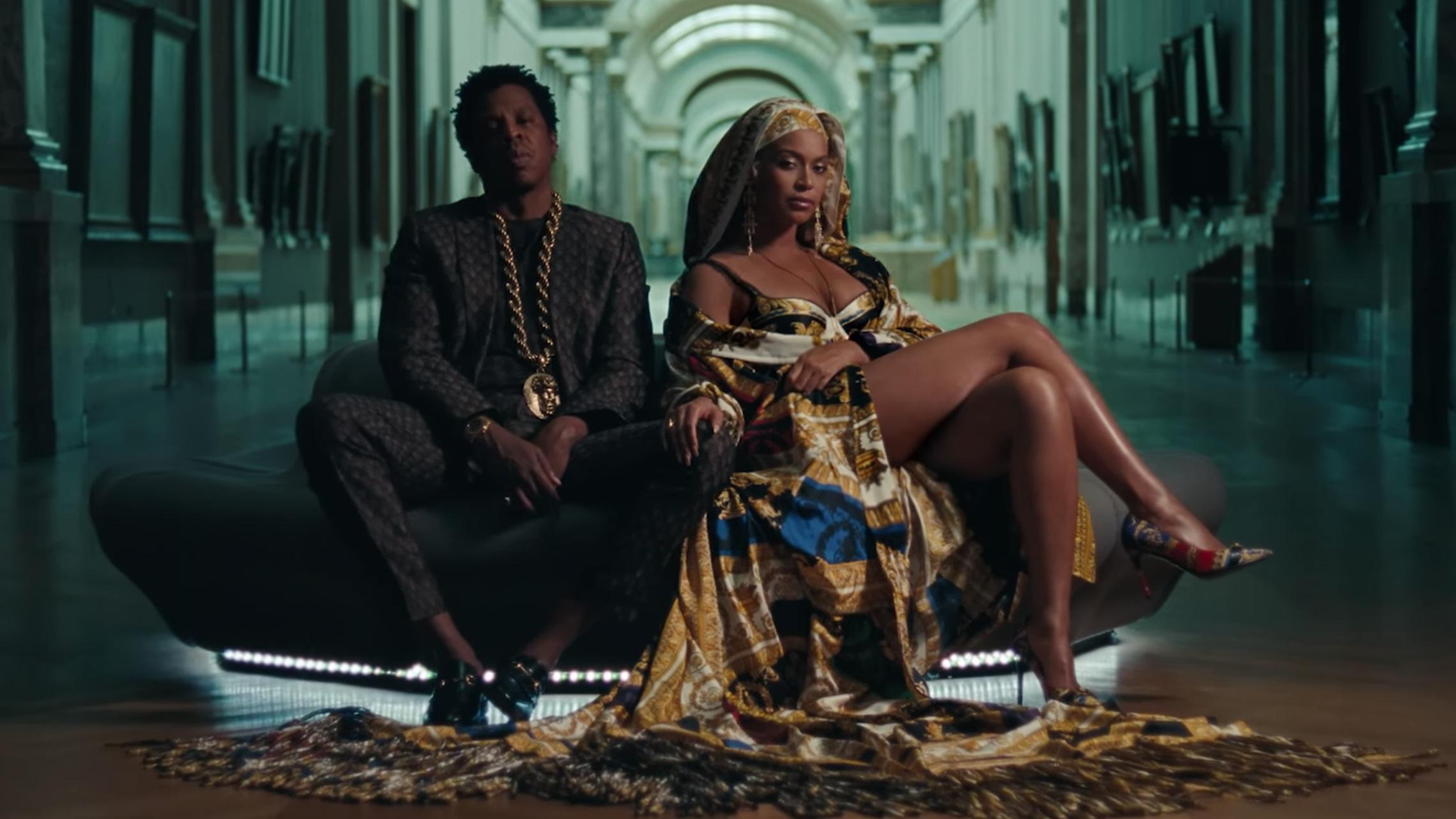"""Photo of Beyoncé y Jay-Z presentan su nuevo tema juntos """"APES**T"""""""