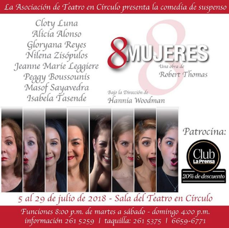 "Photo of ""8 Mujeres"""