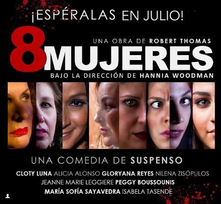 """Photo of En Julio llega la obra """"8 Mujeres"""""""