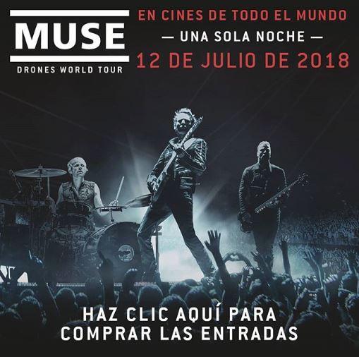 Photo of Ya esta la Pre-venta para 'MUSE: Drones World Tour'