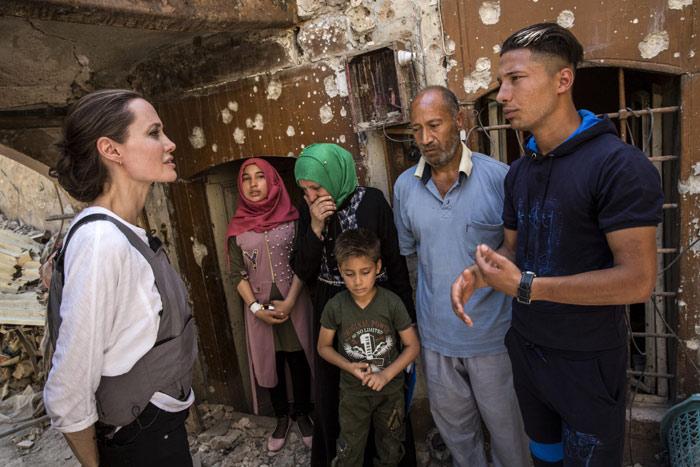 Photo of Angelina Jolie viajo este fin de semana hasta Mosul
