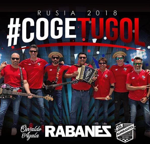 Photo of 'Coge tu Gol' de Los Rabanes ft Os Almirantes Y Osvaldo Ayala