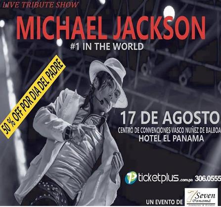 Photo of Aprovecha el descuento del día padre para «Show con tributo a Michael Jackson»