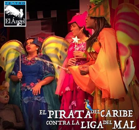 "Photo of Oferta para los boletos de la obra ""El Pirata del Caribe contra la liga del mal"""