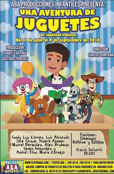 Photo of Estreno de la obra infantil 'Una aventura de juguetes'