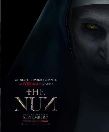 Photo of Warner Bros lanzo nuevo poster de «The Nun»