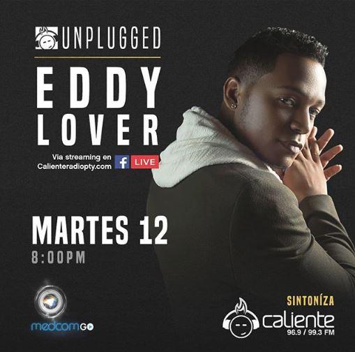 Photo of Esta noche 'Unplugged Caliente' con Eddy Lover