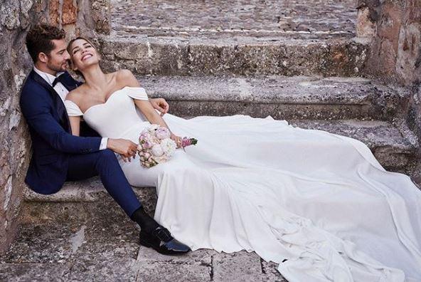 Photo of David Bisbal y Rosanna Zanetti han dado el Si en una boda intima