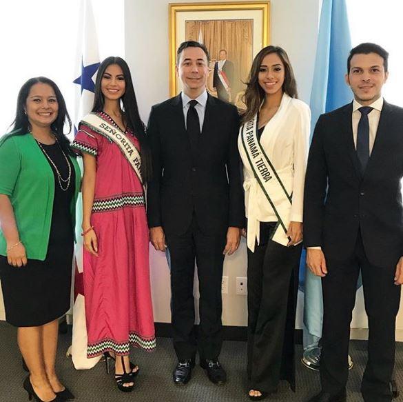 Photo of Señorita Panamá Rosa Montezuma llegó al estado de Nueva York