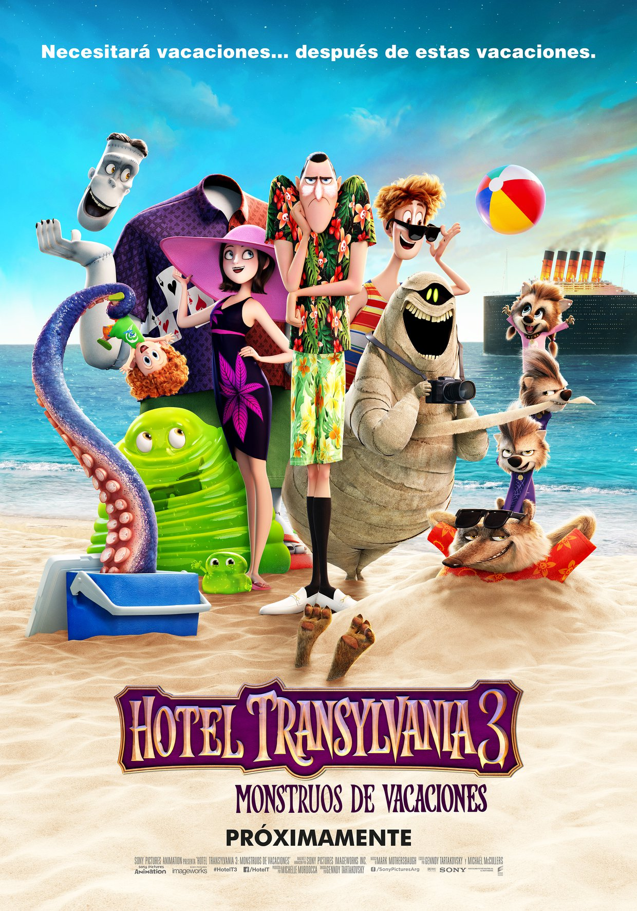 Photo of Próximamente «Hotel Transylvania 3»