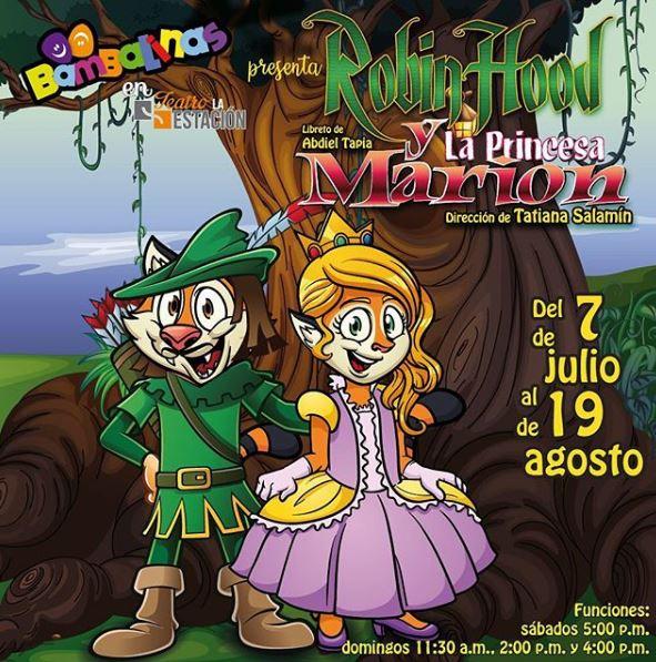 """Photo of Disfruta del estreno de la obra """"Robin Hood y la Princesa Marion"""""""