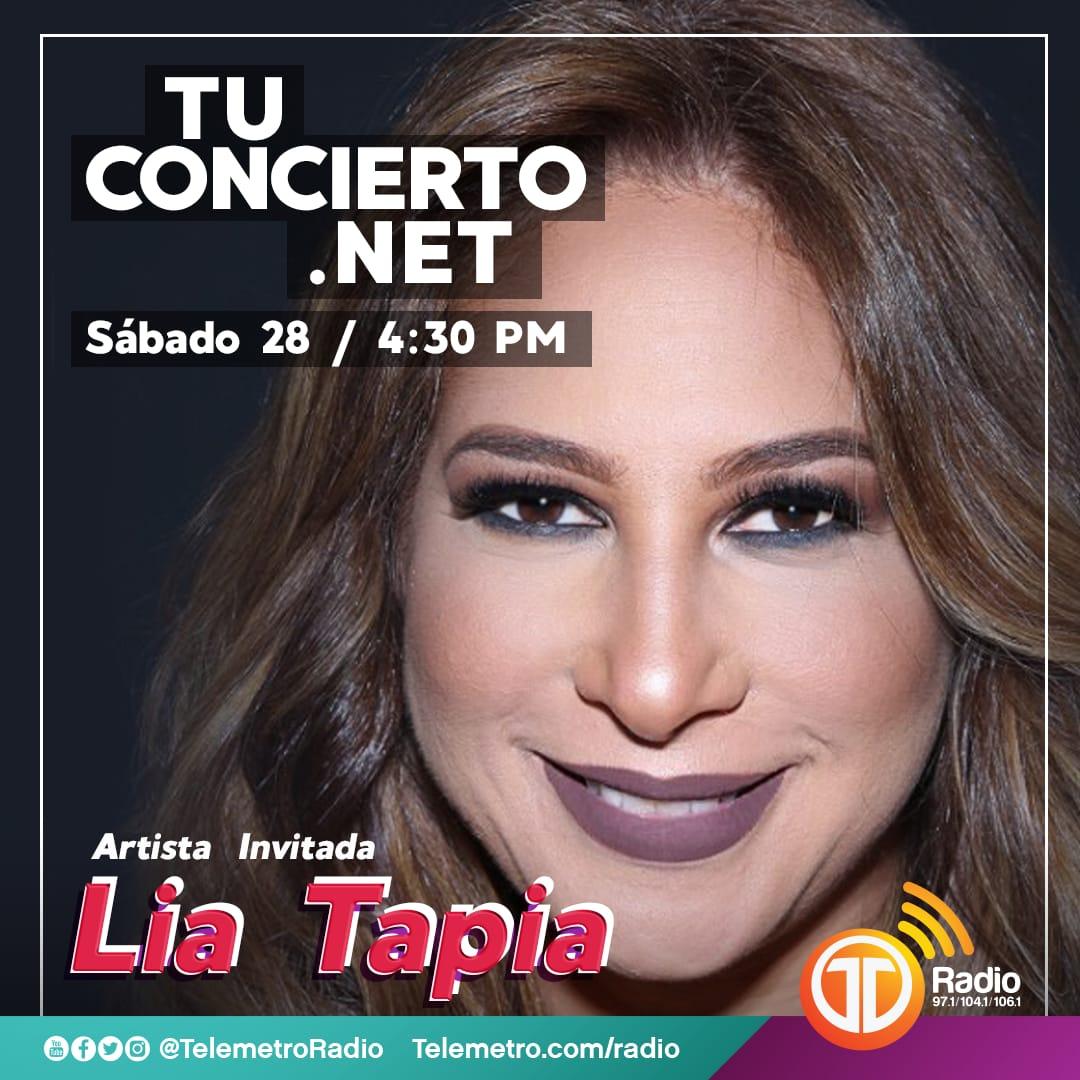 Photo of Lia Tapia en #TuConciertoEnLaRadio
