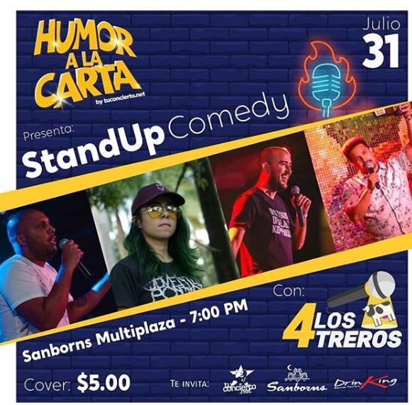 Photo of Humor a la Carta by @tuconcierto presenta a 'Los 4TREROS'