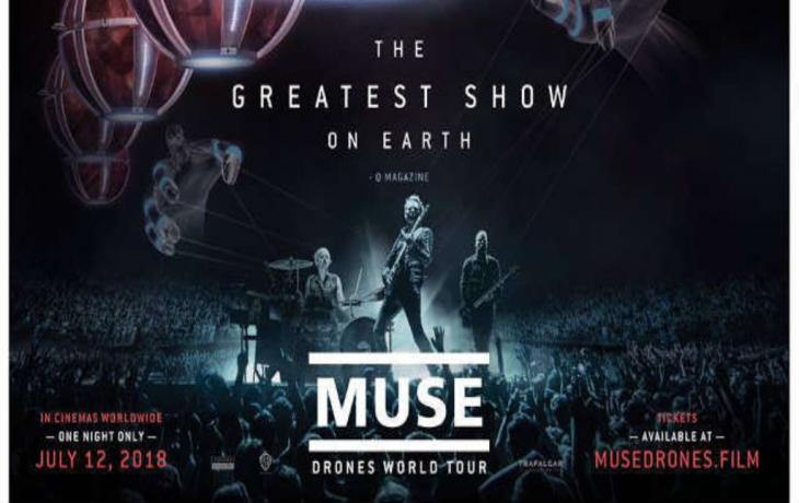 Photo of Jueves de estreno con «MUSE: Drones World Tour»