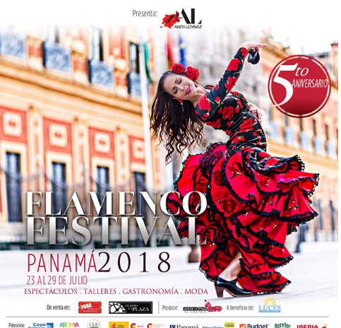 Photo of Esta noche Panamá flamenco festival celebra su 5to. Aniversario