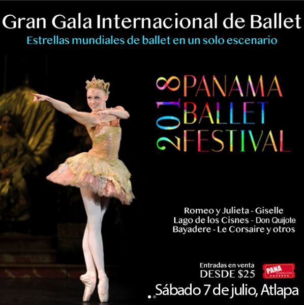 Photo of Esta noche «Panamá Ballet Festival 2018»