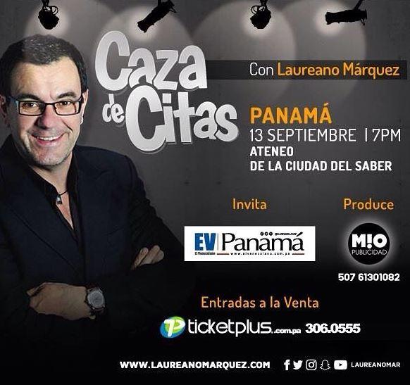 Photo of 'Caza de Citas' de Laureano Marquez en Panamá