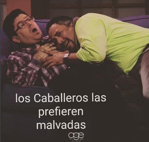 """Photo of """"Los caballeros las prefieran Malvadas"""""""