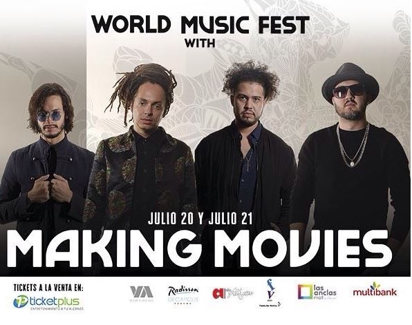 Photo of Concierto de 'Making Movies' en Panamá