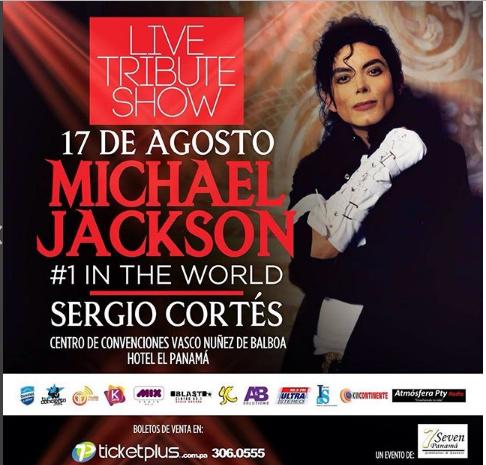 Photo of Sergio Cortés te invita a tributo a Michael Jackson en Panamá