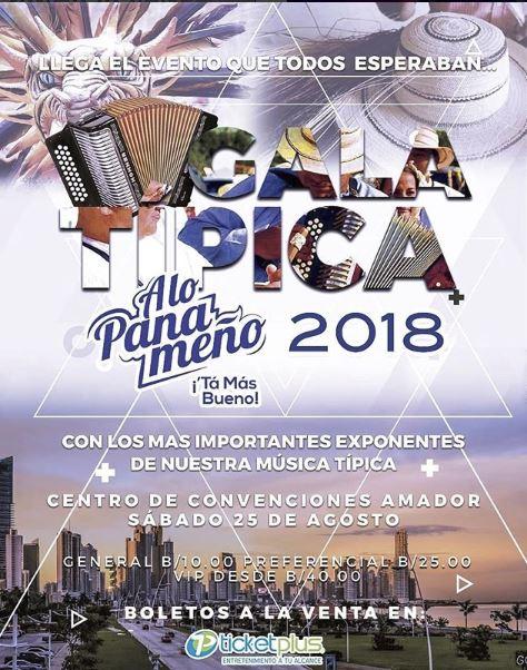 Photo of Gala Típica a lo Panameño 2018