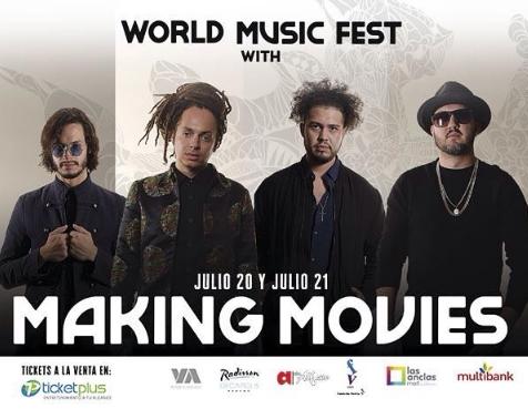 Photo of Esta noche el concierto de 'Making Movies' en Panamá