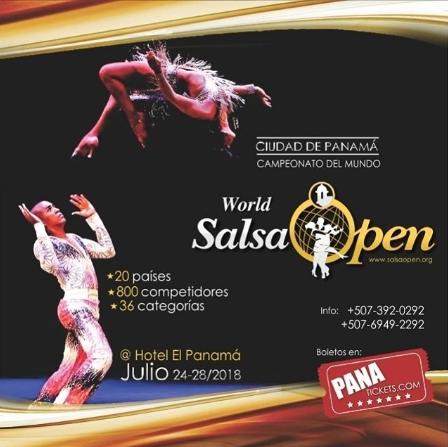 """Photo of Esta noche """"World Salsa Open"""" en Panamá"""