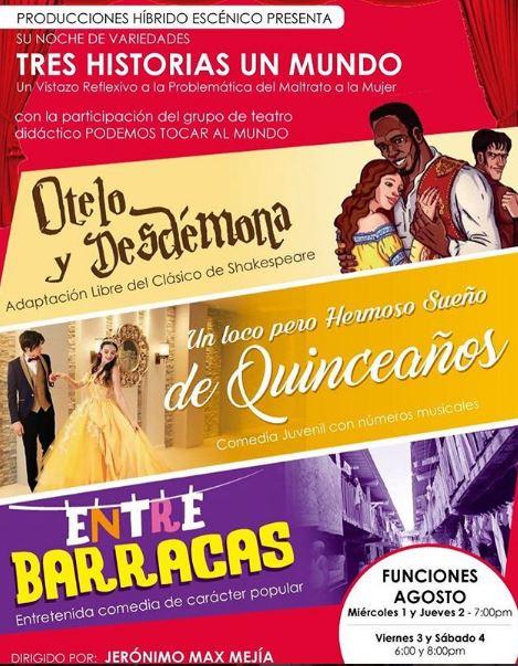Photo of Teatro el Ángel presenta sus obras para el mes de agosto