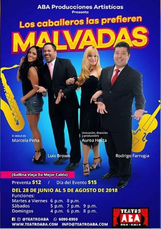 """Photo of Obra """"Los caballeros las prefieran Malvadas"""""""
