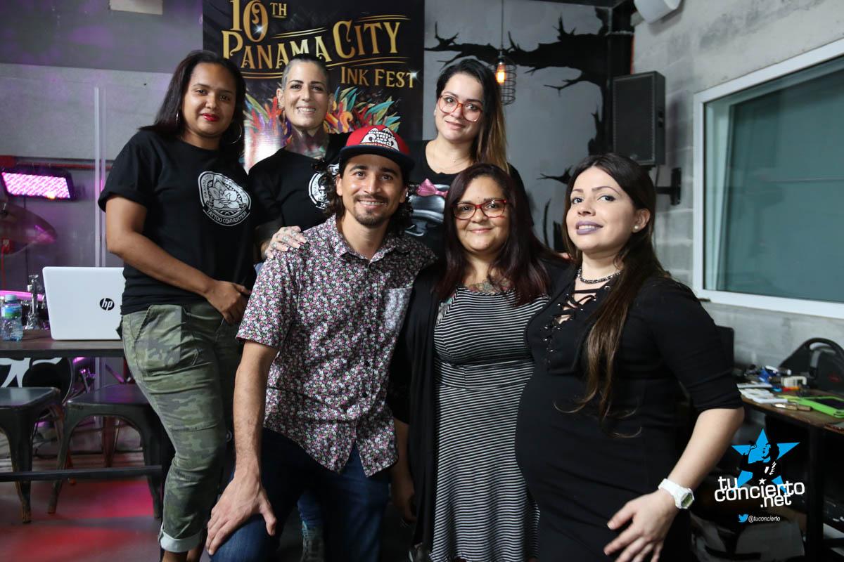 Photo of Conferencia de Prensa del Panamá City Ink Fest