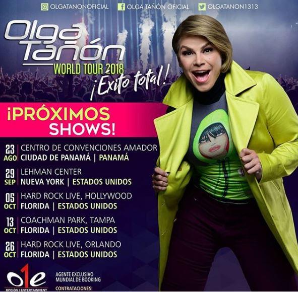 Photo of Faltan pocos días para el concierto de Olga Tañon en Panamá